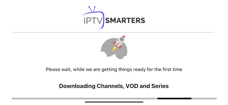 wait for channels to download