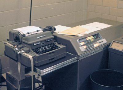 LGP-30 in use in 1965