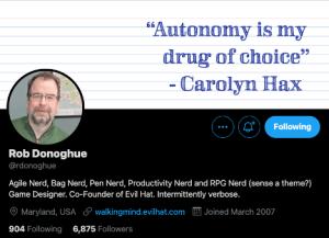 @rdonoghue Twitter profile