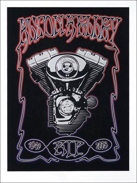 Alton Kelley Tribute Poster