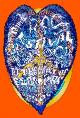 Festival of Rock Posters 2006 by Lee Conklin