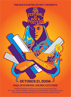 Festival of Rock Posters 2006 by Wendy Wright