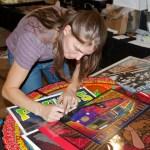 Alexandra Fischer signs