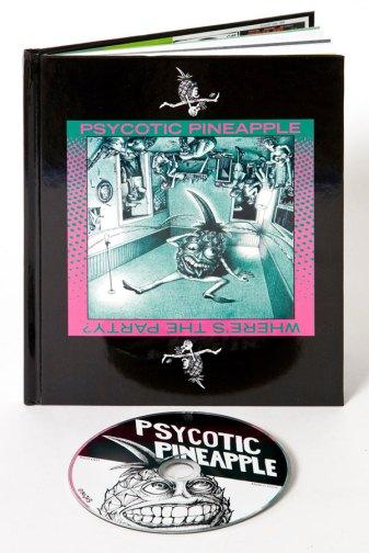Psycotic Pineapple Book art by John Seabury