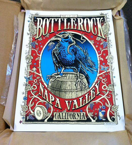 Bottlerock poster by Zoltron