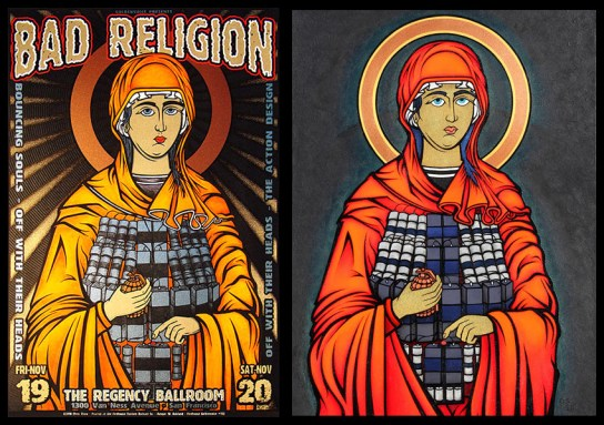 Bad Religion and Madonna by Chris Shaw