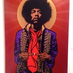 Hendrix painting by Chris Shaw