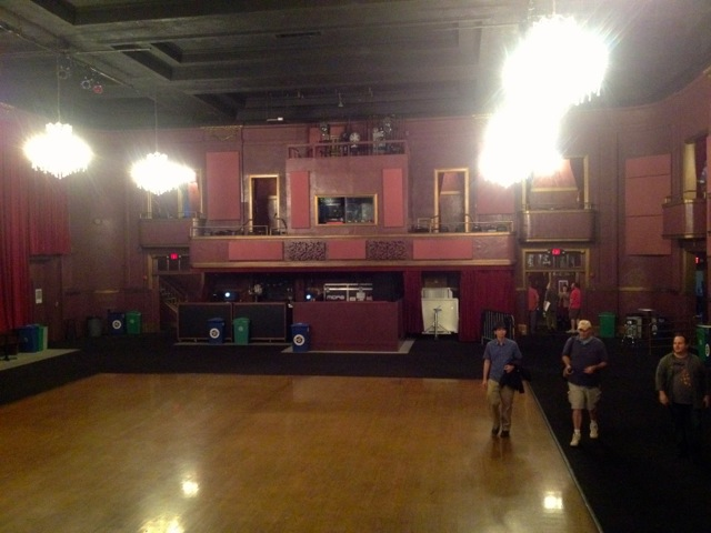 The Fillmore on stage