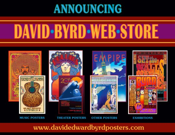 New David Byrd Web Store