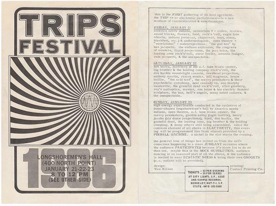 Trips Festival 1966 Wes Wilson