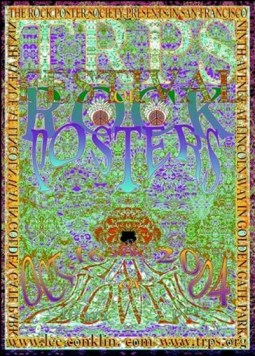 Festival of Rock Posters 2004 by Lee Conklin