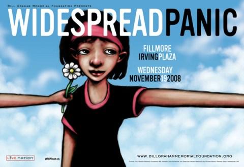 Widespread Panic poster by John Mavroudis