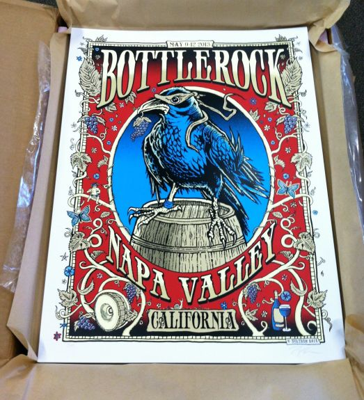 Bottlerock poster by Zoltron