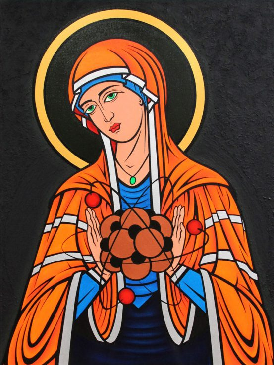 Madonna of the Particle, 2013