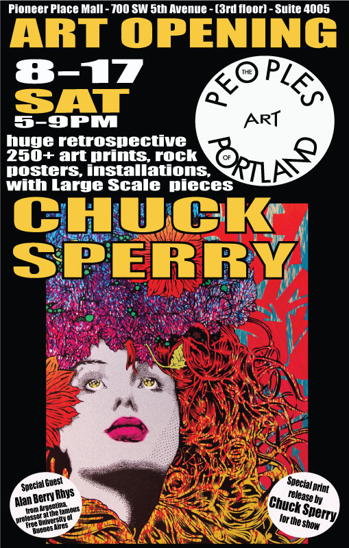 Chuck Sperry Retrospective at The People's Gallery