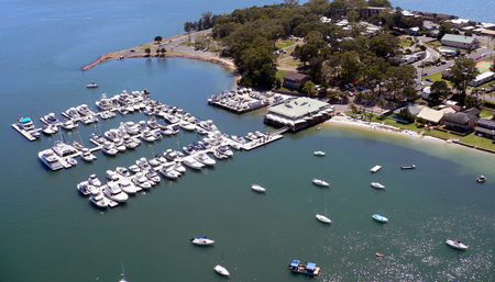 Soldiers Point Marina 450 x 227