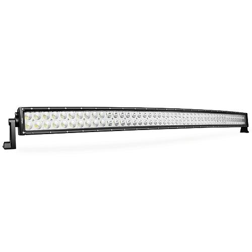 Nilight 50-Inch 288w Curved LED Spot/Flood Light Bar