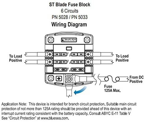 Blue Sea Systems 6-Circuit Fuse Holder
