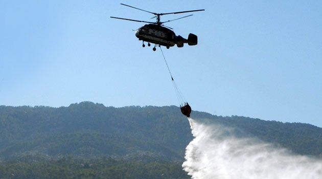 Пожарный вертолет будет размещен на Северном Кипре