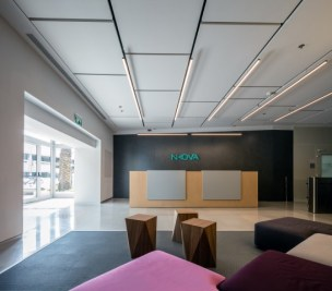 תכנון ועיצוב לובי משרדי