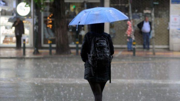 Πρόσκαιρη κακοκαιρία με βροχές και καταιγίδες (video)