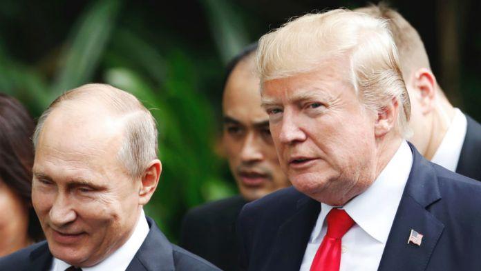 Ο Τραμπ μιλά για τη συνάντησή του με τον Πούτιν