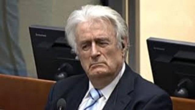 Ισόβια η  «τελική ετυμηγορία» για τον Ράντοβαν Κάρατζιτς