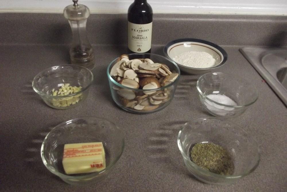 Venison Marsala (Chicken, Veal); Recipe (3/5)
