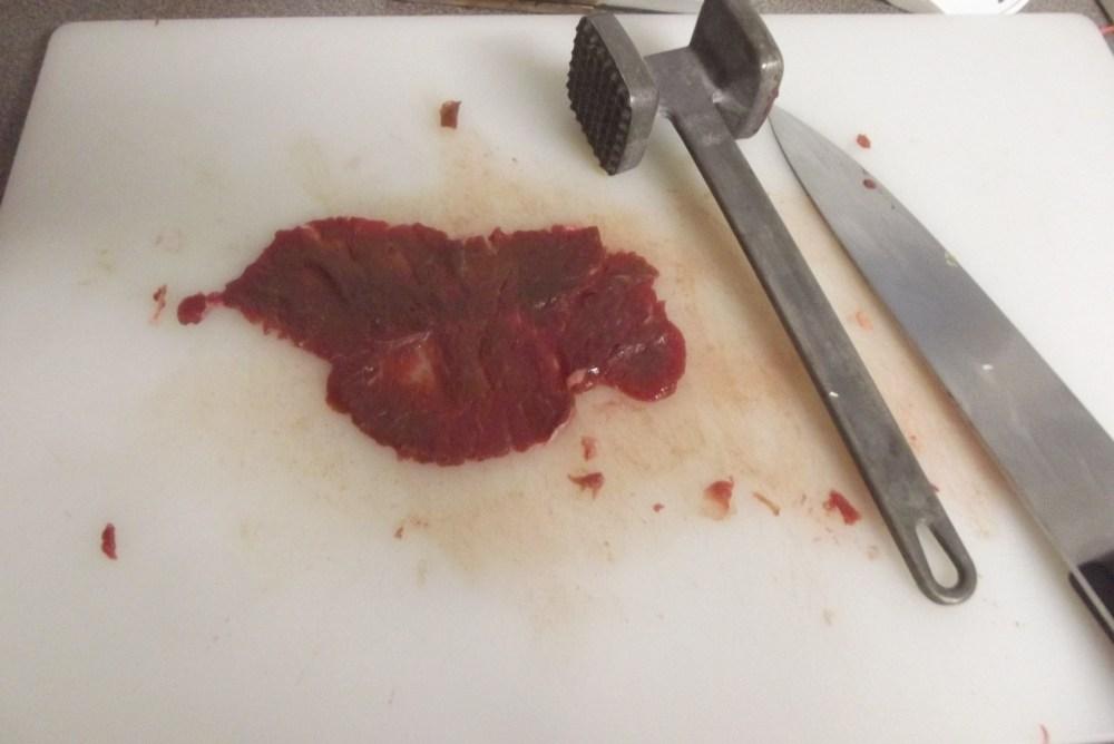 Venison Marsala (Chicken, Veal); Recipe (4/5)