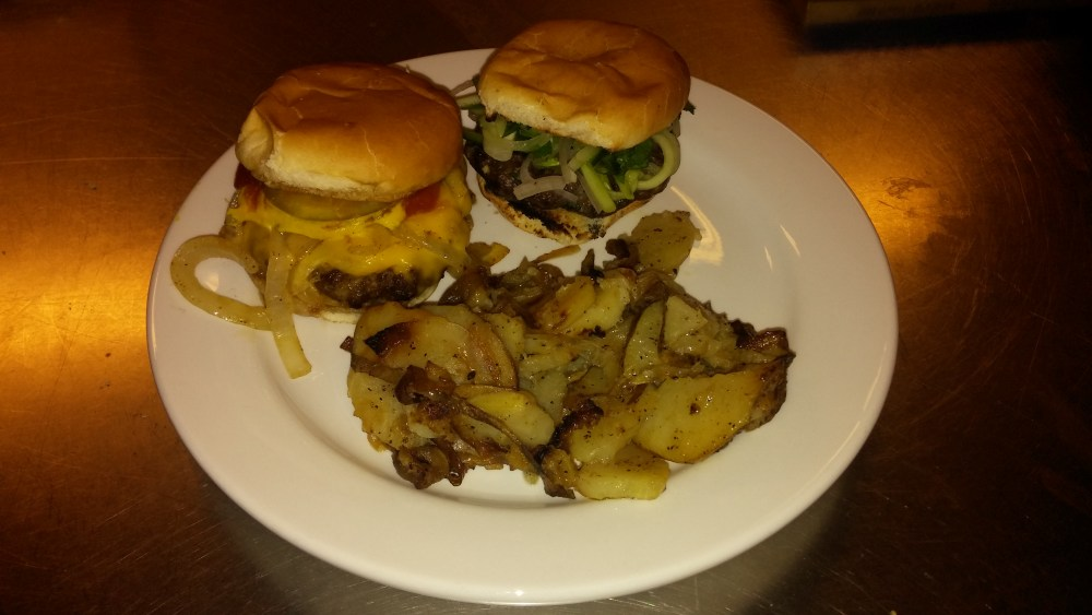 Chitown Sliders. A tribute to all night grills; Recipe