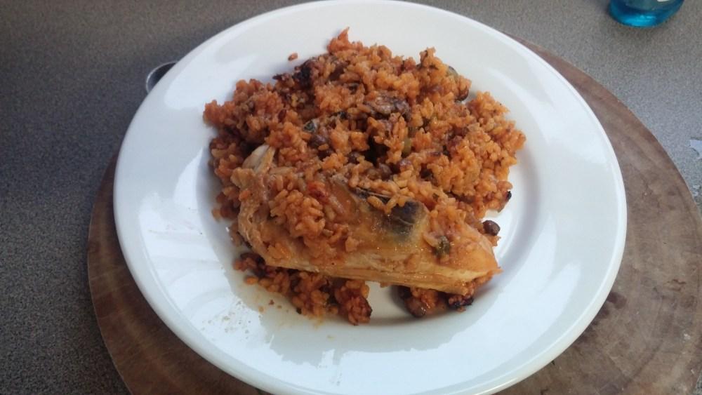 Arros con Pollo; Recipe (5/5)