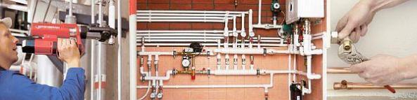 Фото – металлопластик в системе отопления