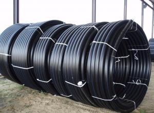 Фото: трубопрокатные материалы из ПНД для холодного водопровода в бухтах