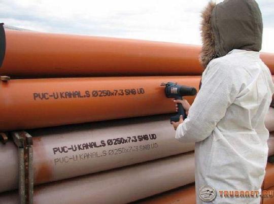 фото: полипропиленовые трубы горячей воды маркировка