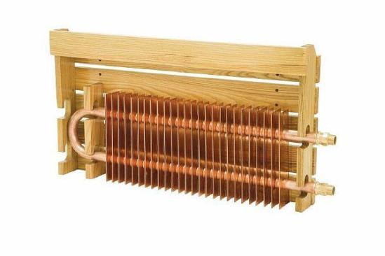 Фото – радиатор отопления медный
