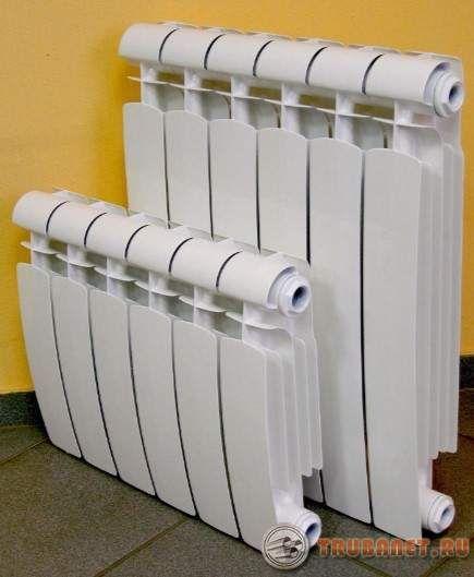 фото: тепловые радиаторы алюминиевые
