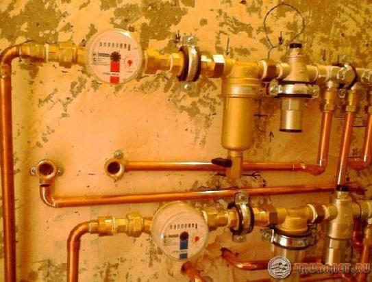 фото: водопровод из меди