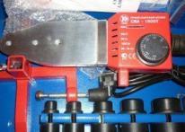 фото: Сварочный аппарат для пластиковых труб