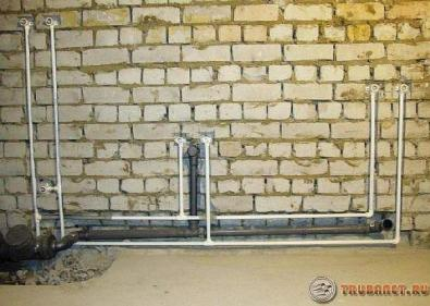 фото: монтаж полипропиленового водопровода