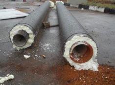 фото: ппу теплоизоляция для стальных трубопроводов