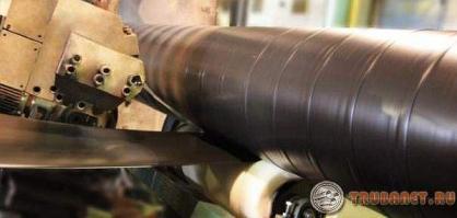 Фото: трубы с полимерным покрытием
