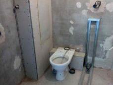 Фото: ремонт в туалете прячем трубы