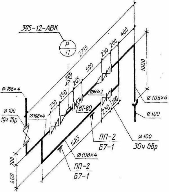 Фото - Изометрическая схема водопровода
