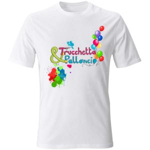 Magliette Trucchetta&Palloncio da personalizzare