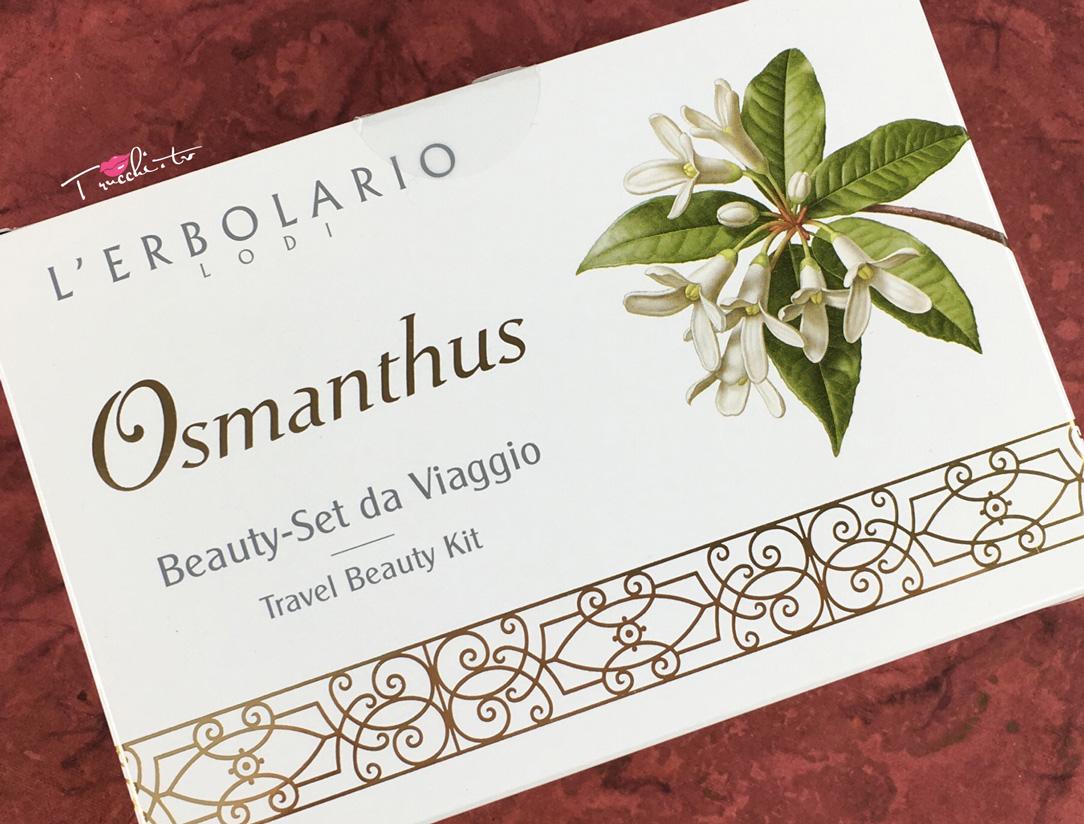LErbolario Osmanthus Beauty Set da Viaggio  Trucchitv