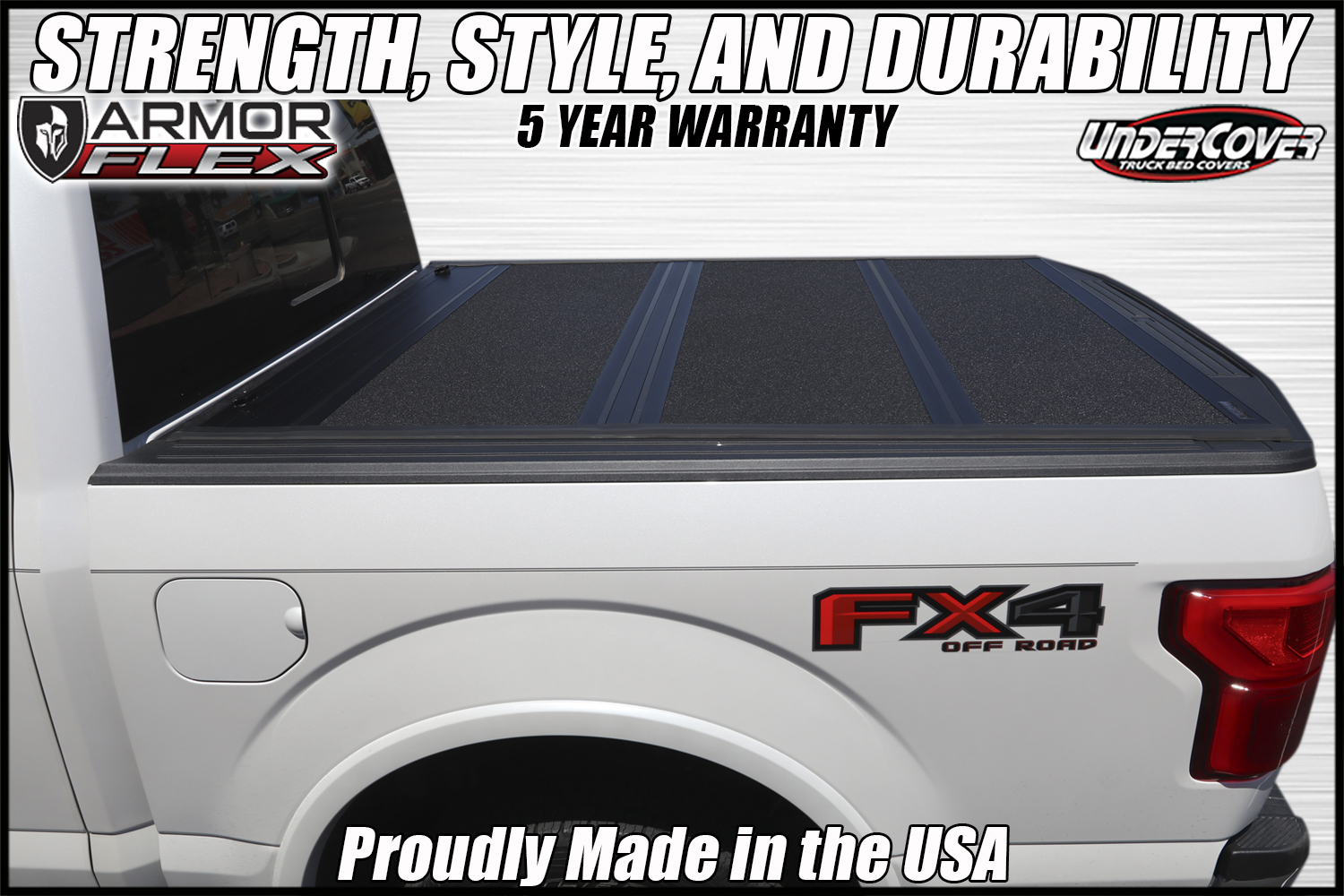 hight resolution of armor flex hard folding truck bed cover by undercover