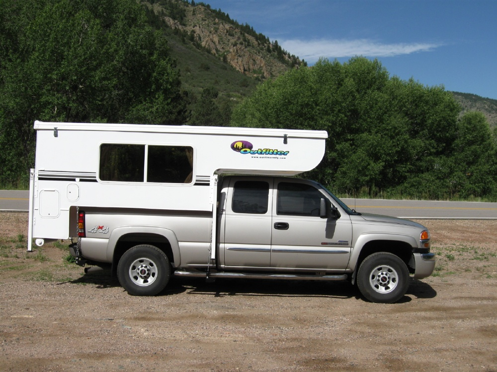 Cal Willis - Outfitter Apex 8 Truck Camper and GMC 3500.