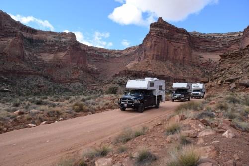 Canyonlands White Rim Trail - Truck Camper Adventure