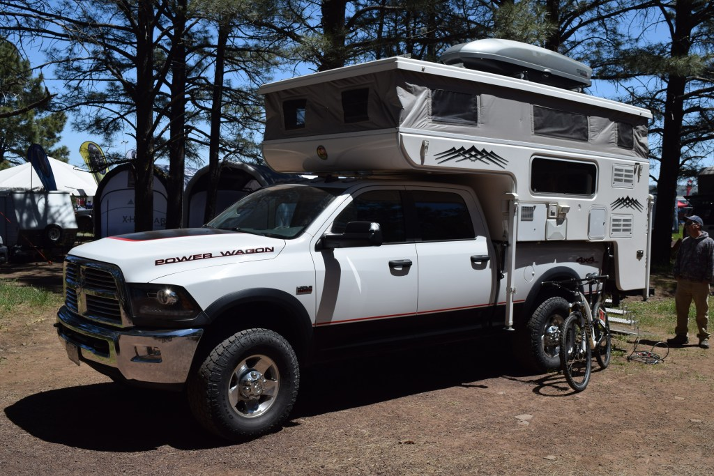 Hallmark Ute Pop-up - Truck Camper Adventure