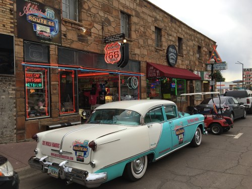 Downtown Williams - Route 66 - Truck Camper Adventure